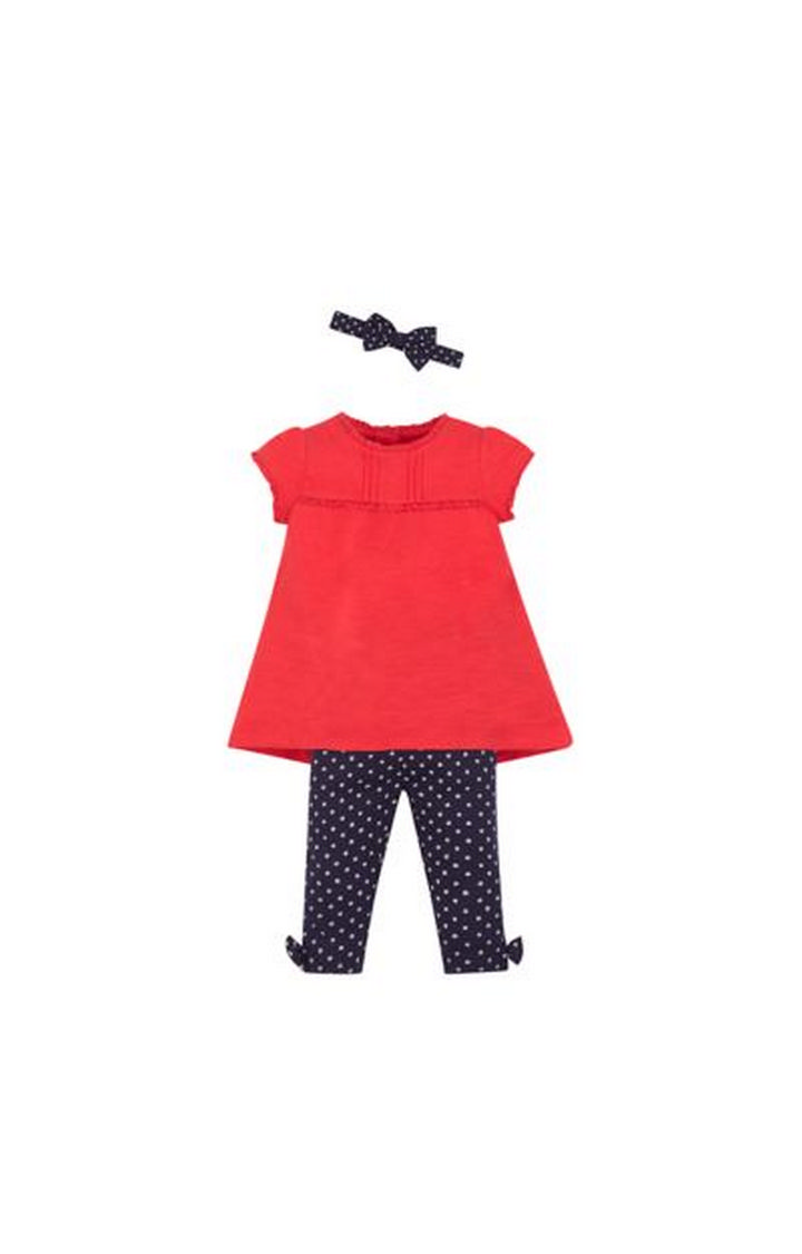Mothercare   Red Printed Twin Set