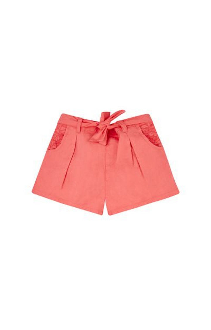 Mothercare | Coral Solid Shorts