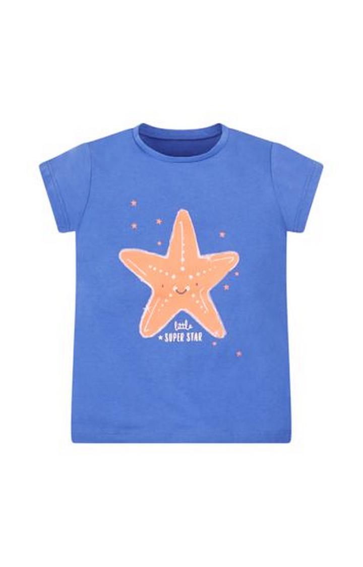 Mothercare | Blue Starfish T-Shirt