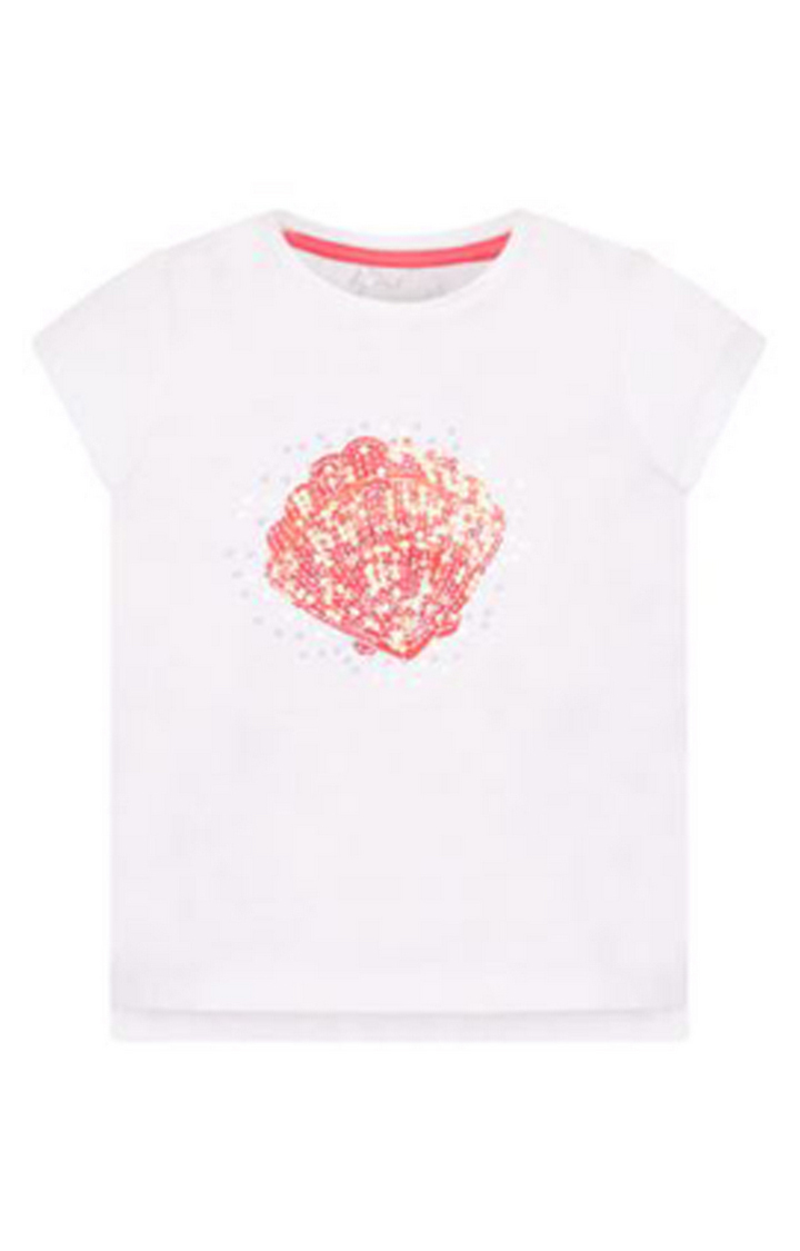 Mothercare   White Printed Top