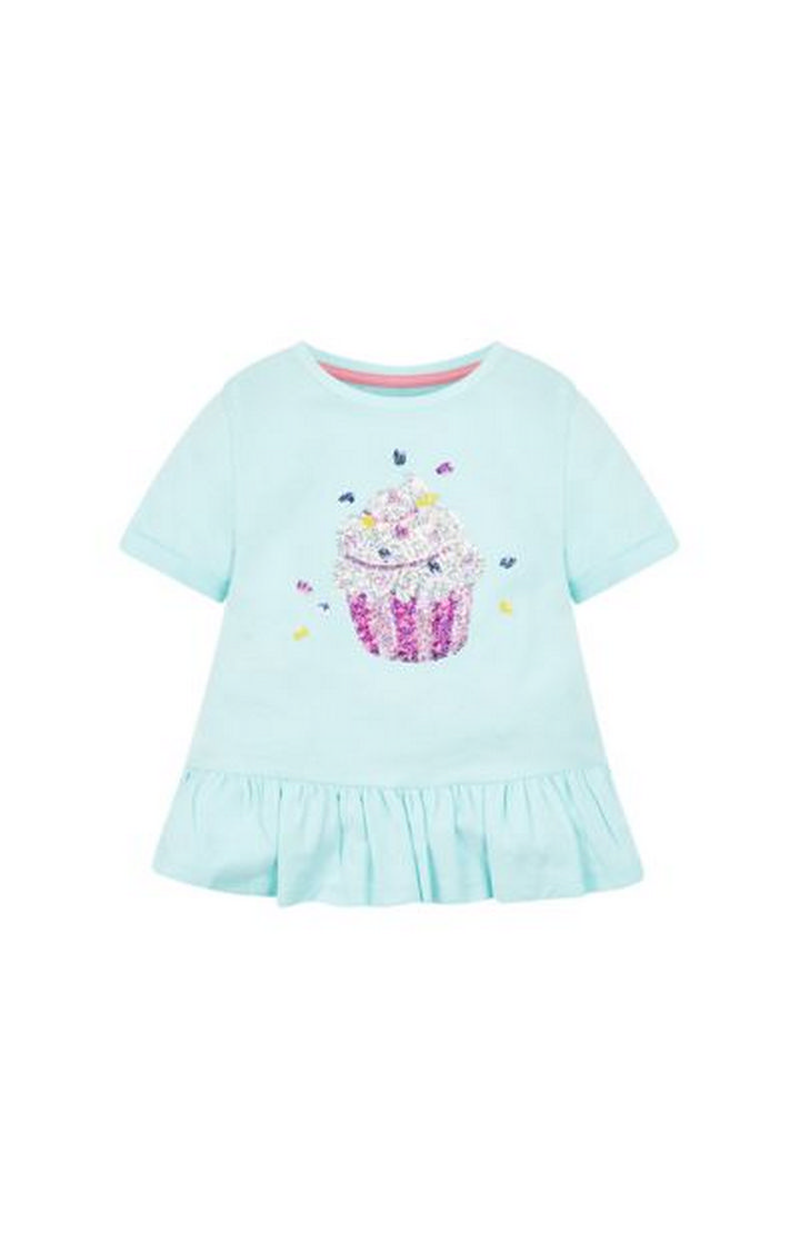 Mothercare | Turquoise Printed Top