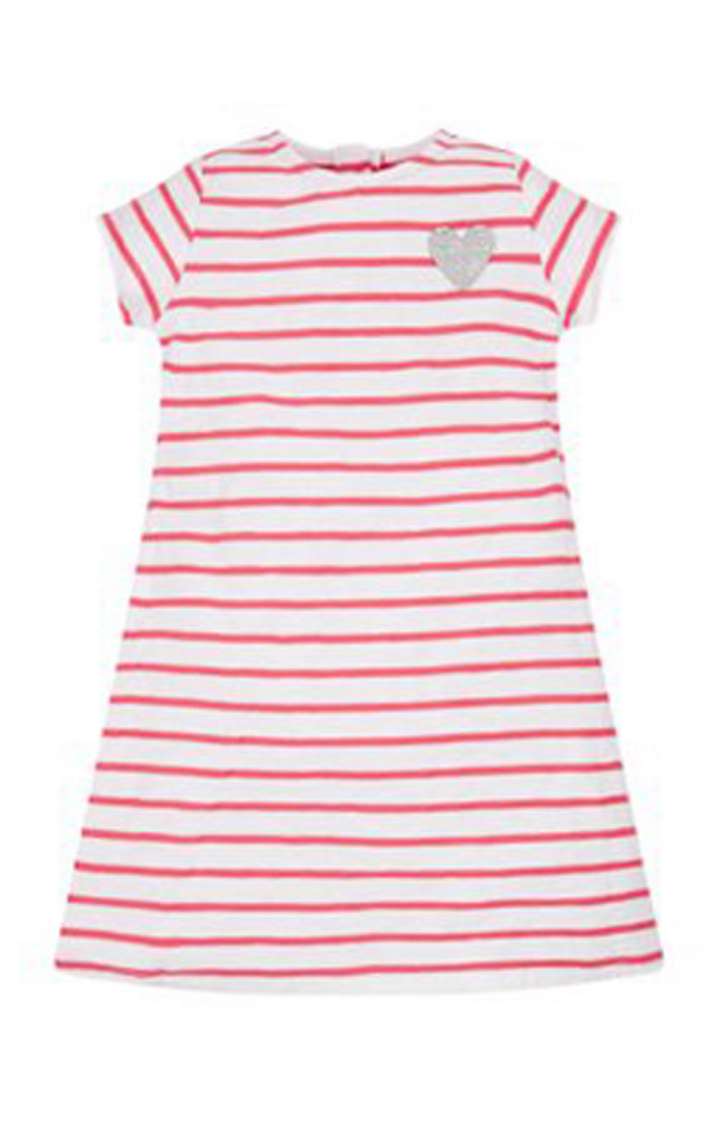 Mothercare | White Striped Frock