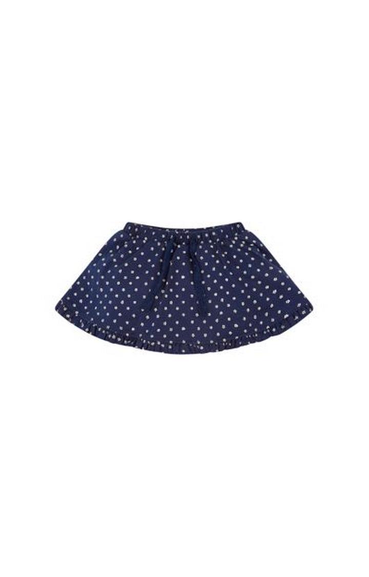 Mothercare   Navy Printed Skirt
