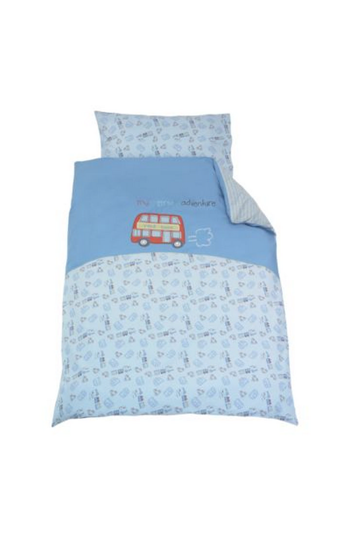 Mothercare | Blue Printed Bedding