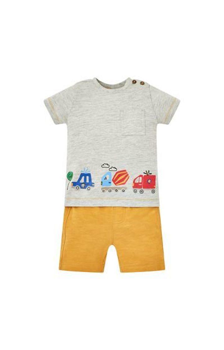 Mothercare   Vehicle T-Shirt And Shorts Set