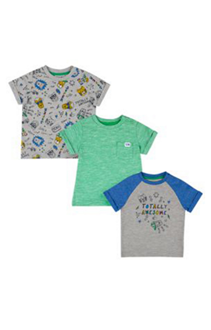 Mothercare | Totally Awesome T-Shirts - 3 Pack
