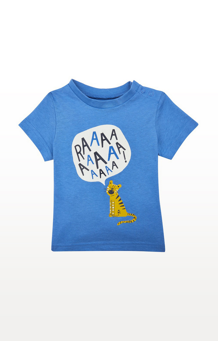 Mothercare | Blue Raaa Tiger T-Shirt