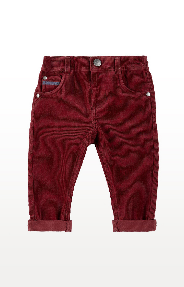 Mothercare | Burgundy Cord Trousers