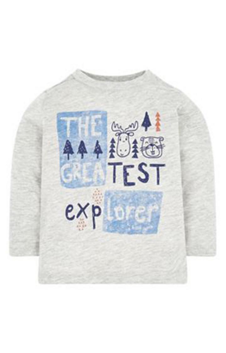 Mothercare | Grey Explorer T-Shirt