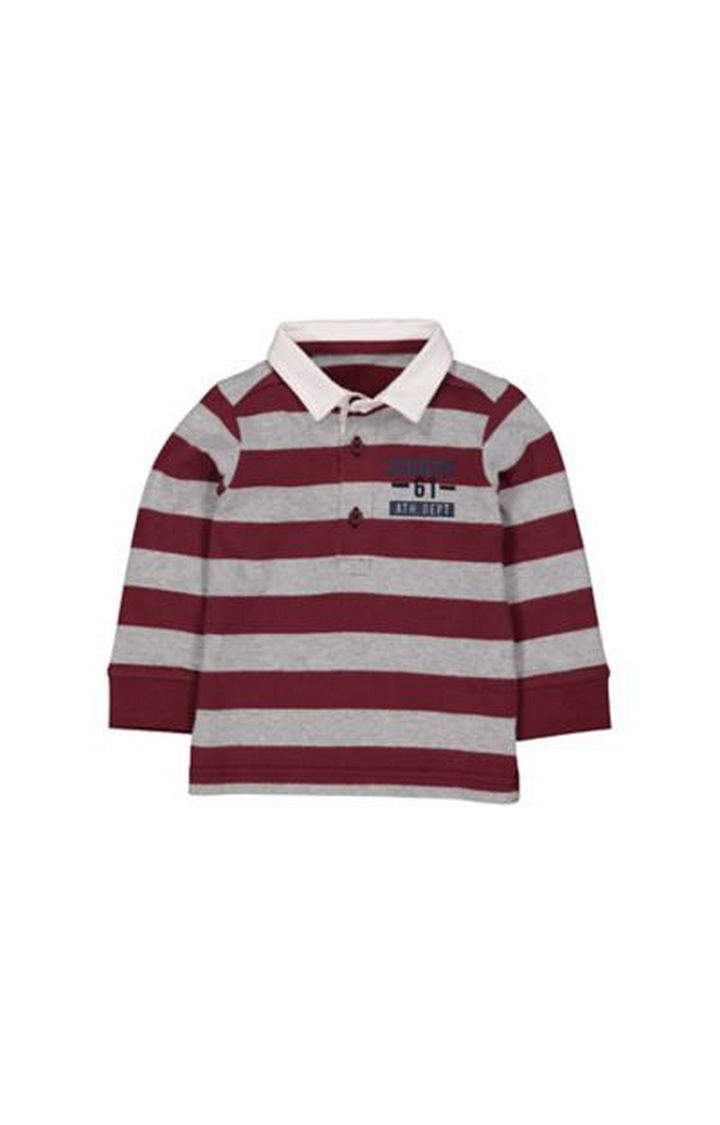 Mothercare | Burgundy Rugby Top