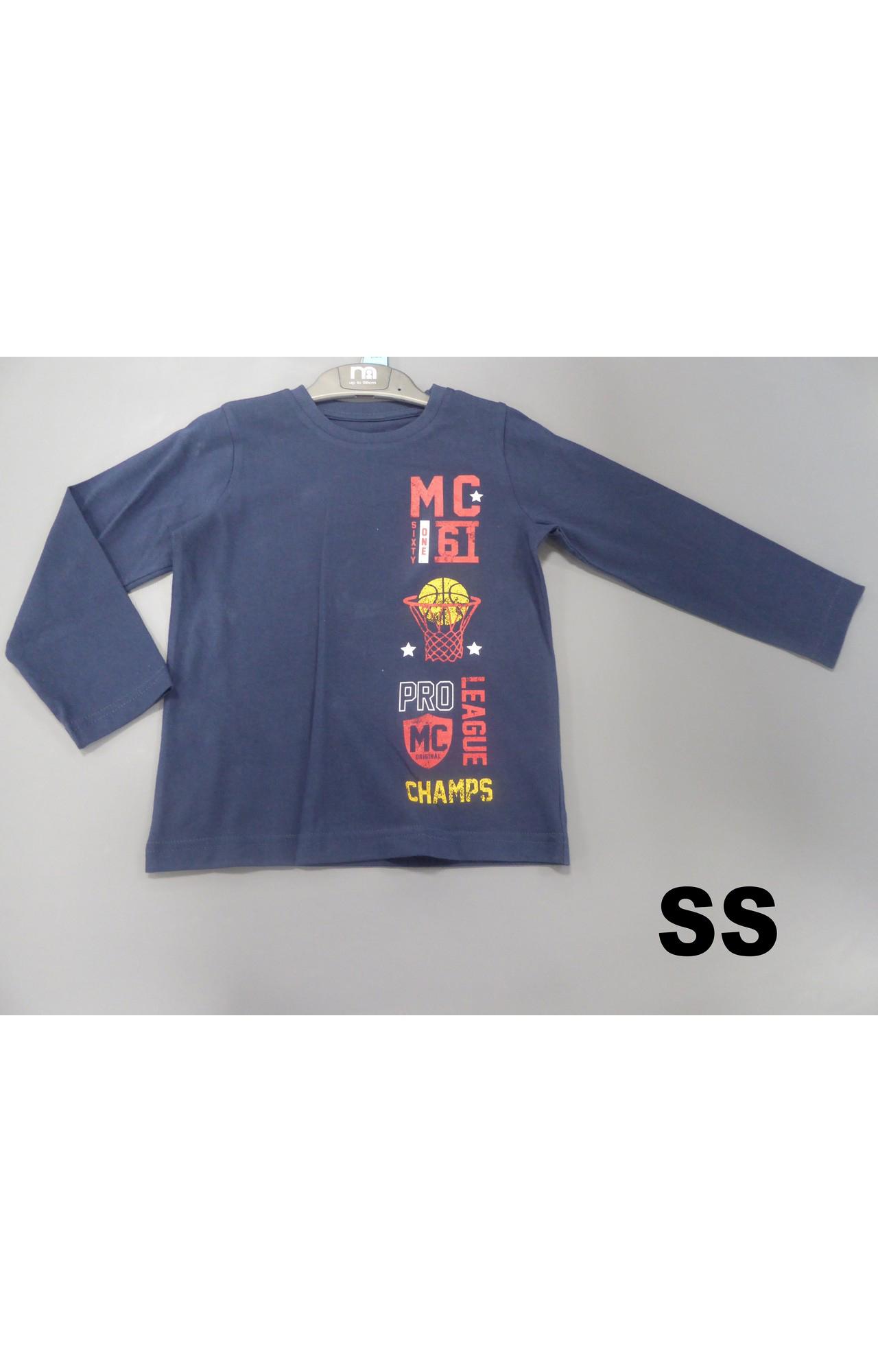 Mothercare | Navy Basketball T-Shirt