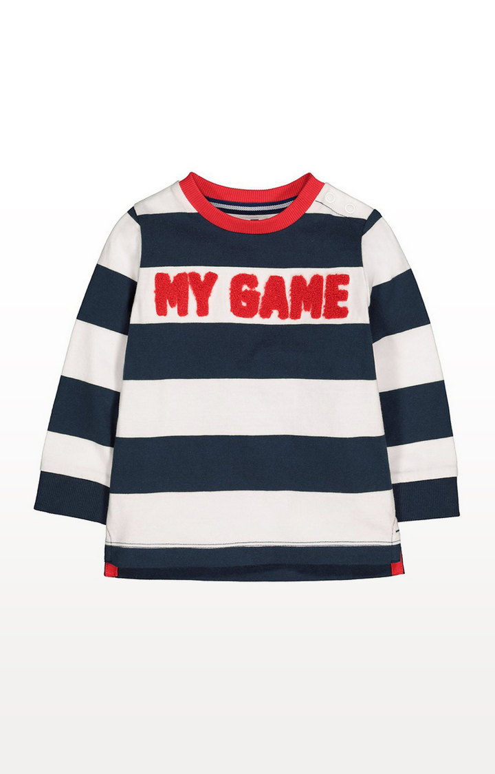 Mothercare | My Game Stripe T-Shirt