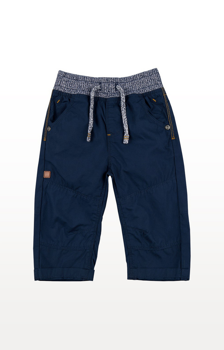Mothercare | Navy Poplin Trousers