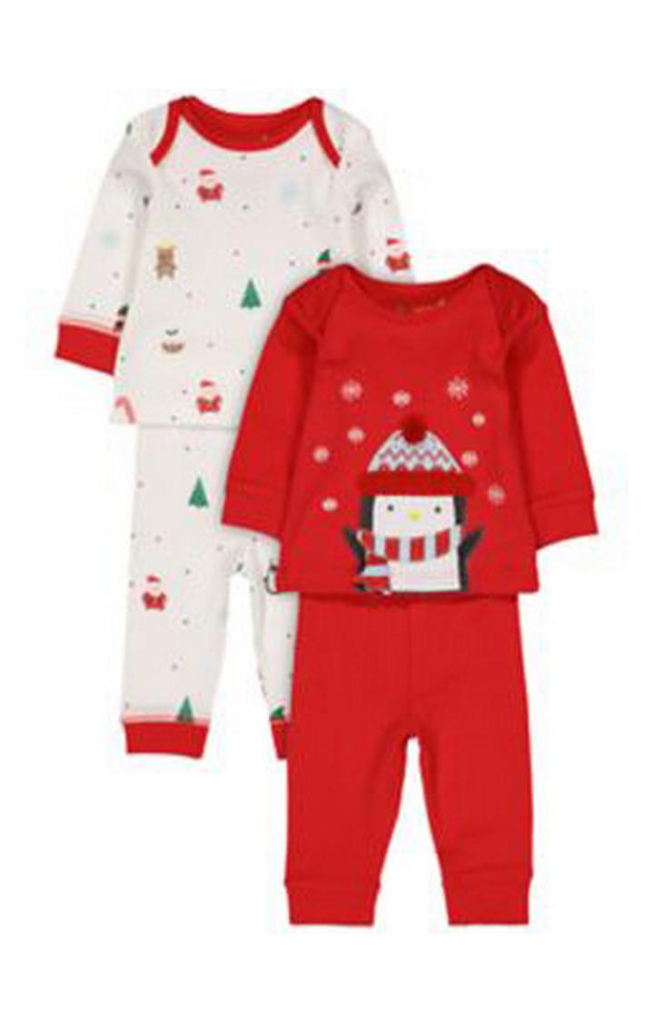 Mothercare   Festsive Pyjamas - 2 Pack