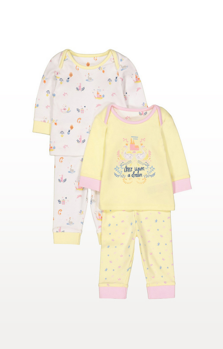 Mothercare | Once Upon A Dream Pyjamas - 2 Pack
