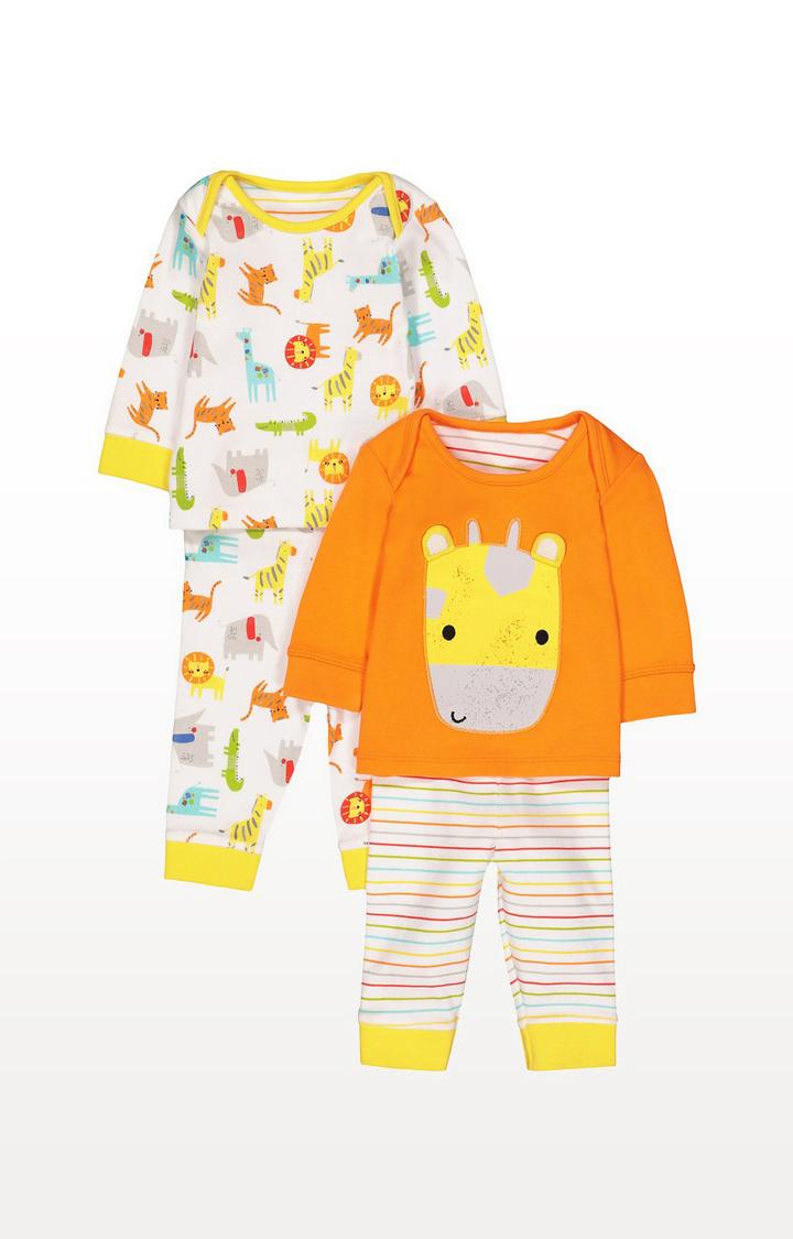 Mothercare | Safari Pyjamas - 2 Pack