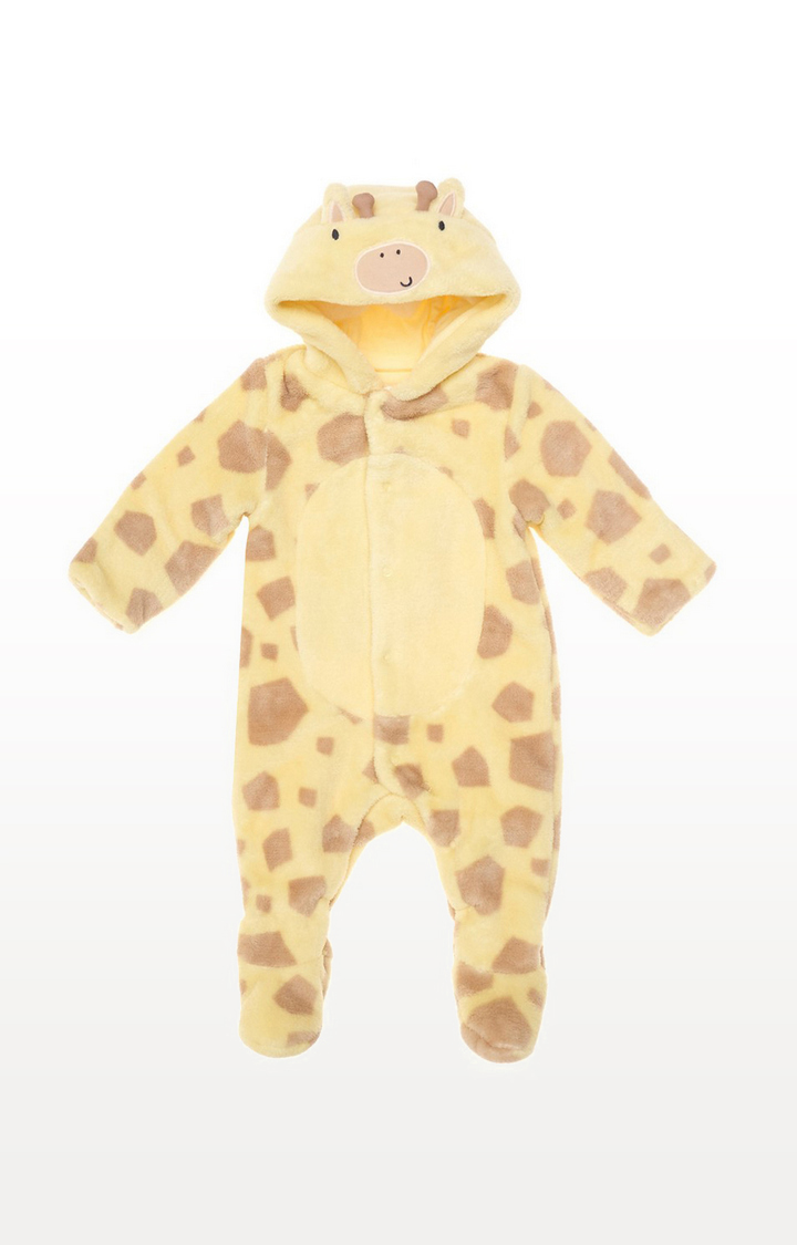 Mothercare | Giraffe Fluffy All In One