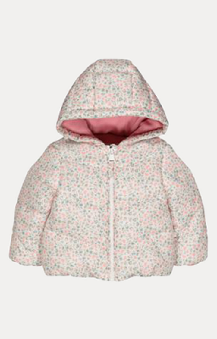 Mothercare | Floral Padded Jacket