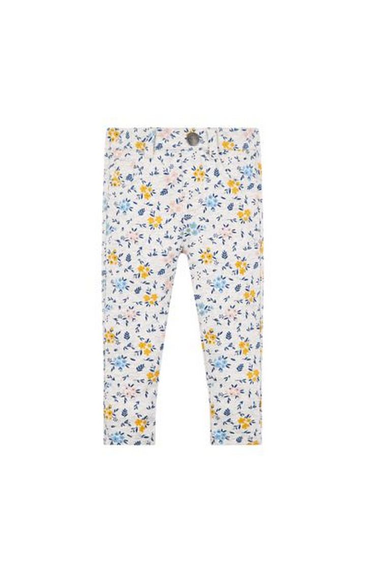 Mothercare   Grey Floral Trousers