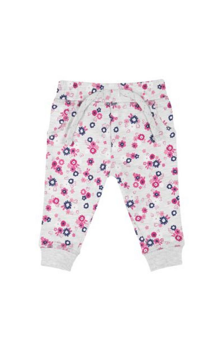 Mothercare   Grey Flower Joggers