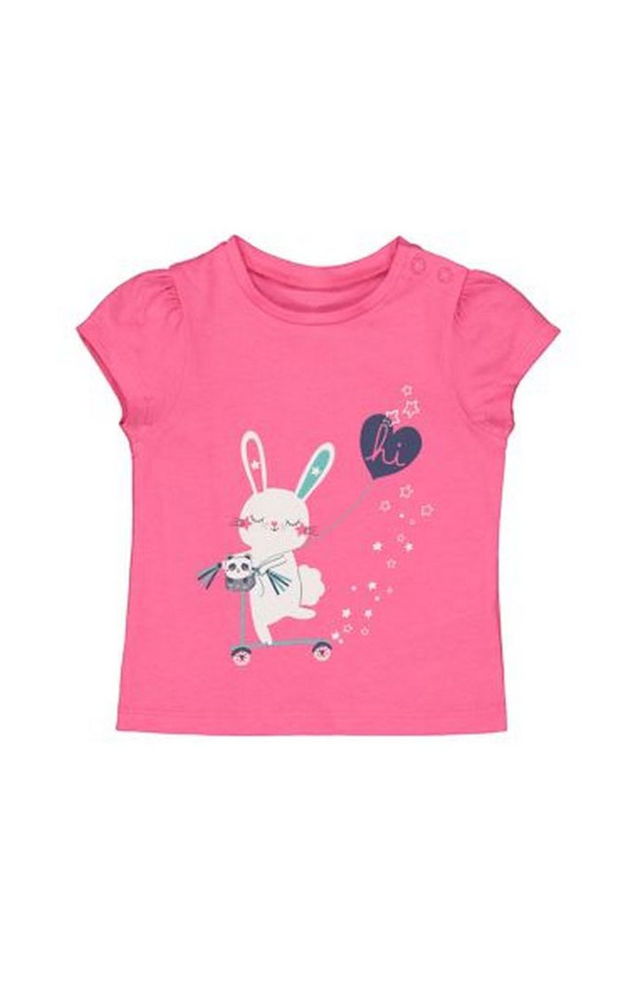 Mothercare | Pink Bunny T-Shirt
