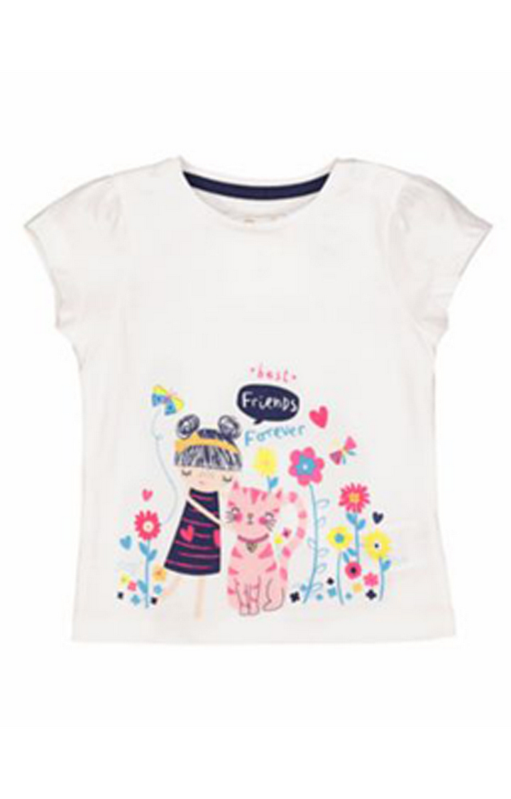 Mothercare | Best Friends Border T-Shirt