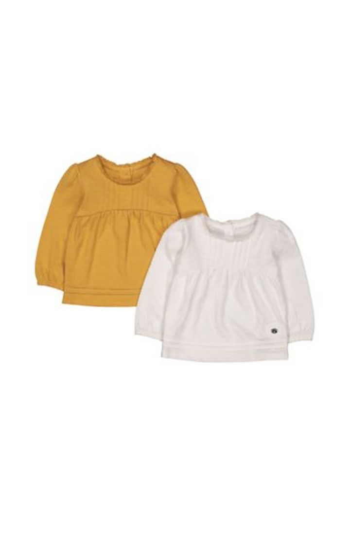 Mothercare | Pintuck T-Shirts - 2 Pack