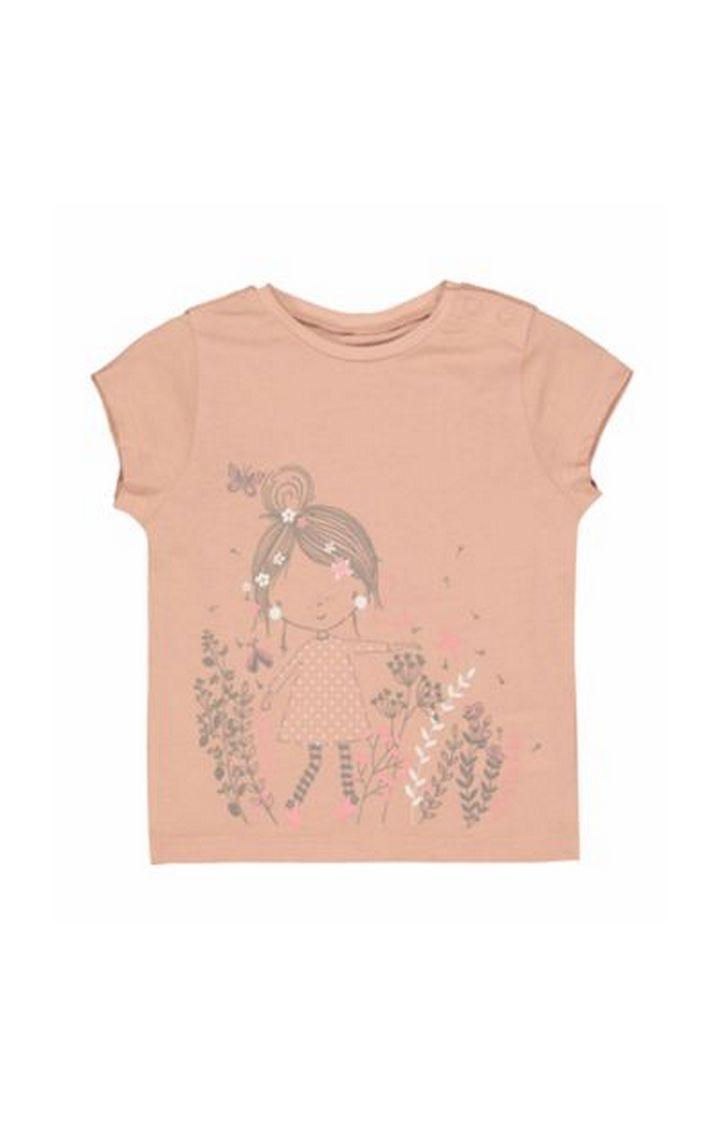Mothercare   Pink Garden T-Shirt