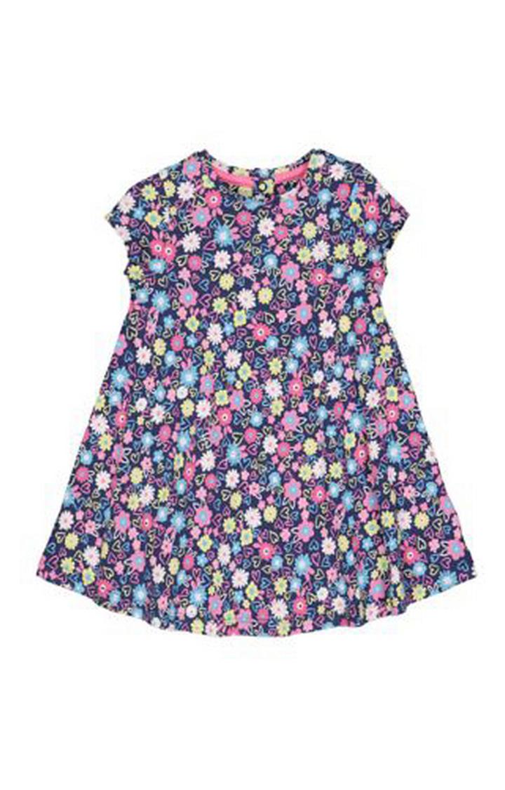 Mothercare | Navy Flower Dress