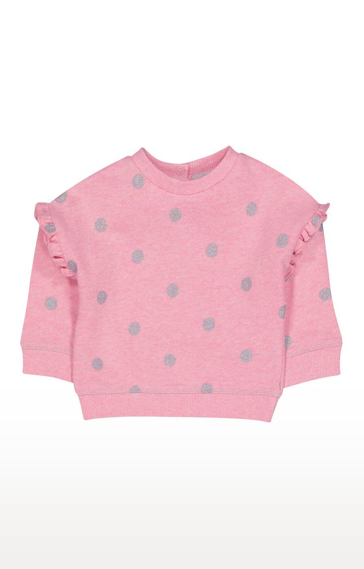 Mothercare | Pink Spot Sweat Top