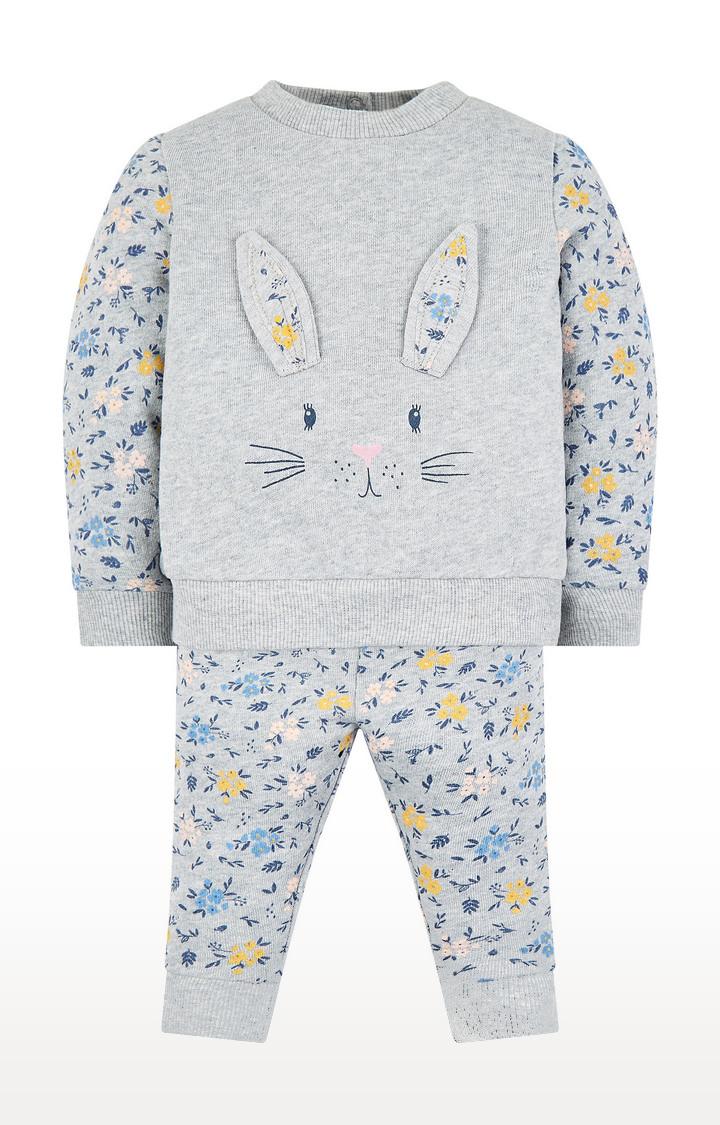 Mothercare | Grey Bunny Jog Set