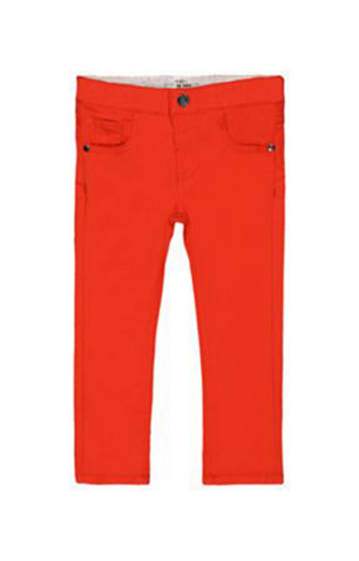 Mothercare | Red Frayed Hem Trousers