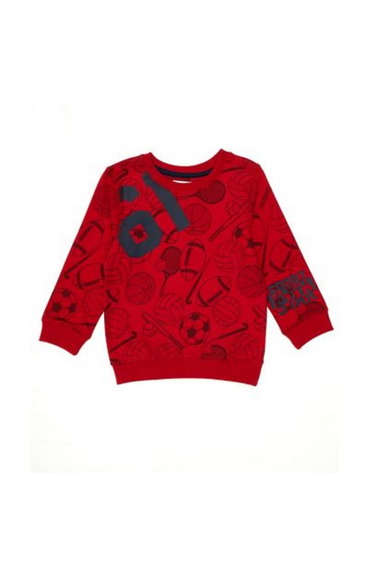 Mothercare   Red Ball Sport Sweat Top