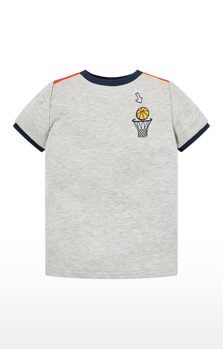 Mothercare | Grey Goal Scorer T-Shirt