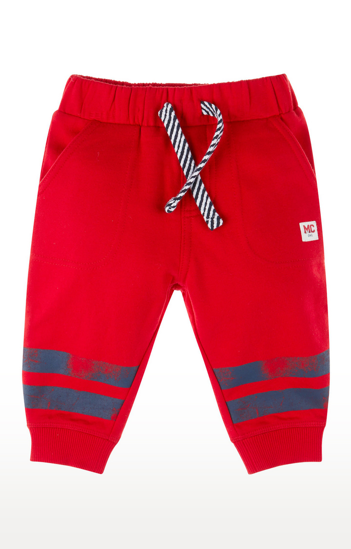 Mothercare | Red Stripe Joggers