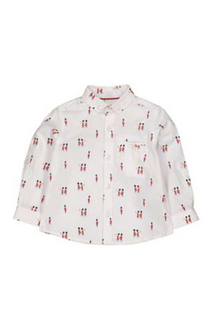 Mothercare | White Soldier Shirt