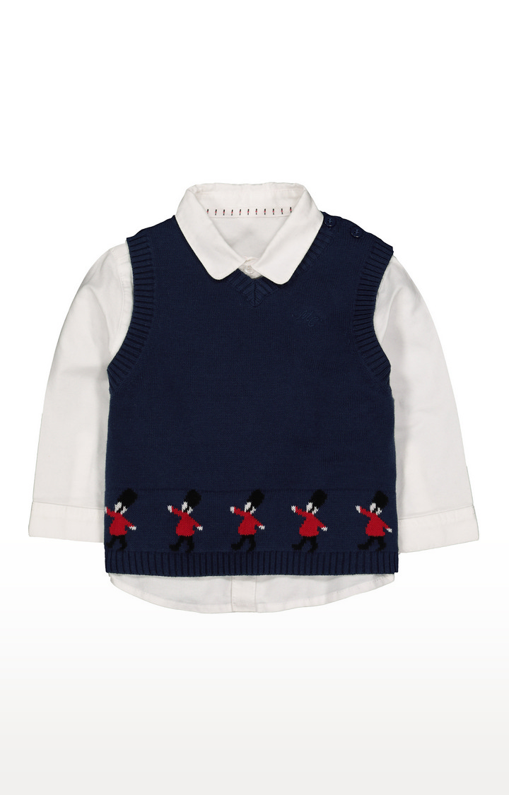 Mothercare | Soldier Shirt And Vest Set