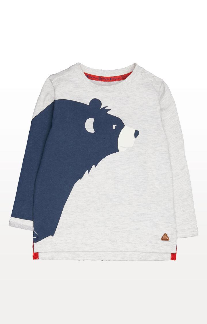 Mothercare | Grey Bear T-Shirt