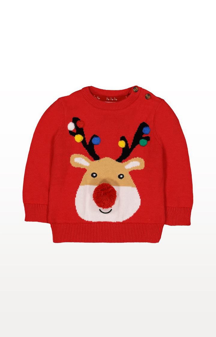 Mothercare | Festive Reindeer Jumper