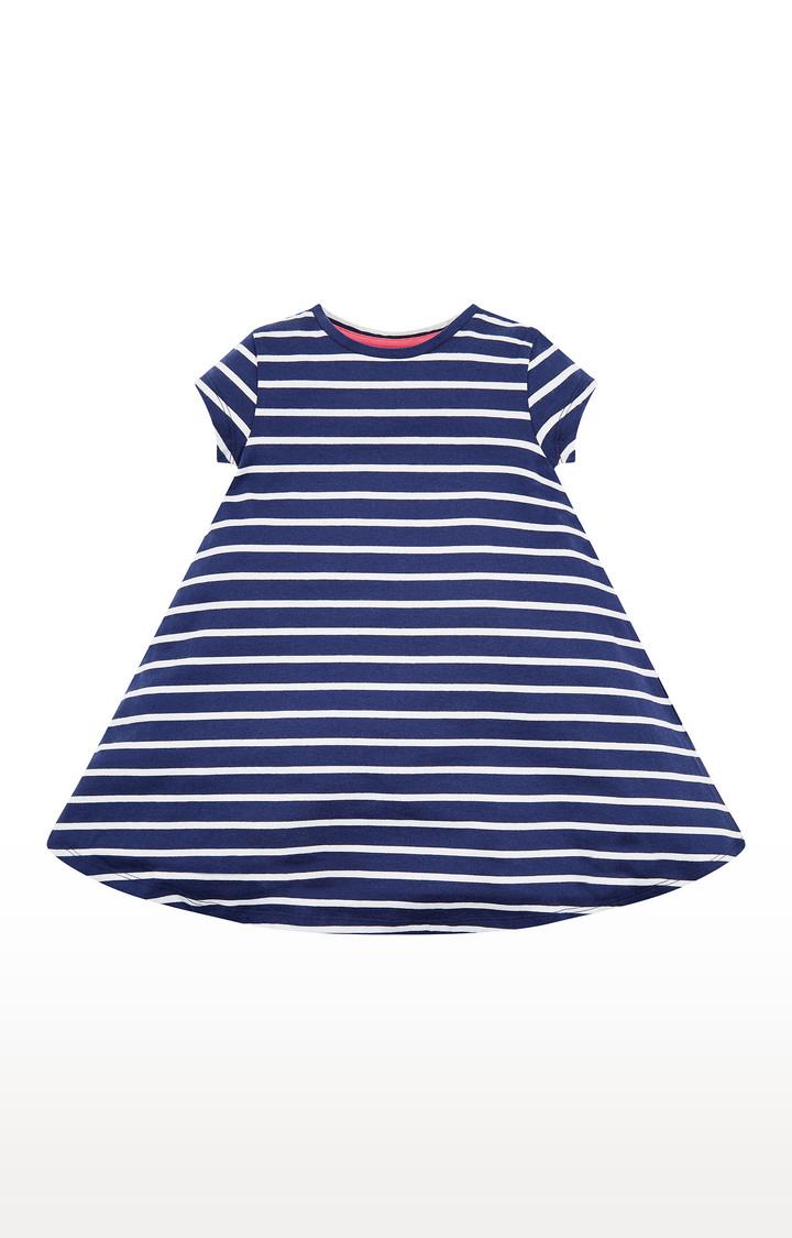 Mothercare | Navy Stripe Dress