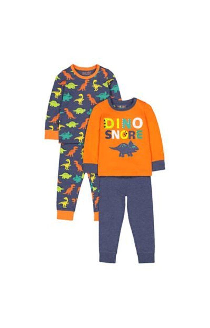 Mothercare | Dinosaur Pyjamas - 2 Pack
