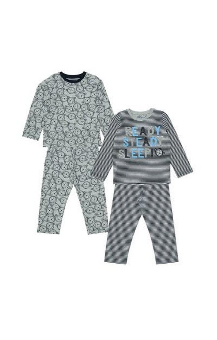 Mothercare | Monkey Pyjamas - 2 Pack