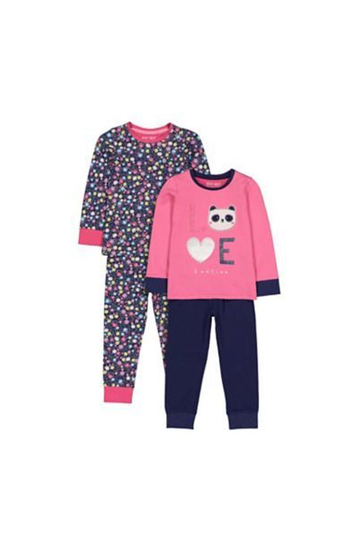 Mothercare | Love Panda Floral Pyjamas
