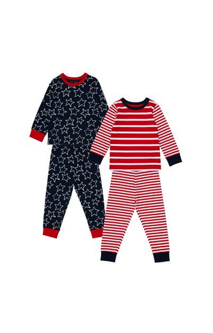 Mothercare | Stars And Stripes Pyjamas - 2 Pack