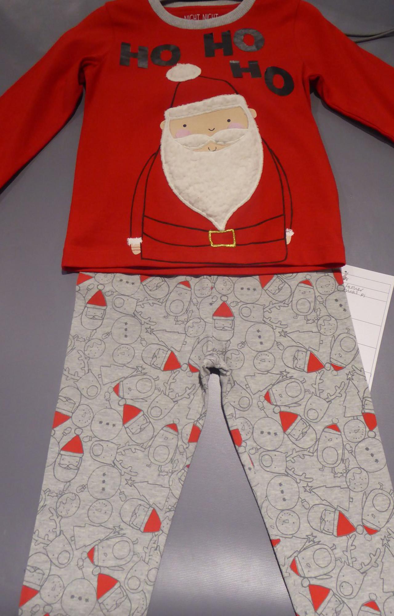 Mothercare   Father Christmas Pyjamas