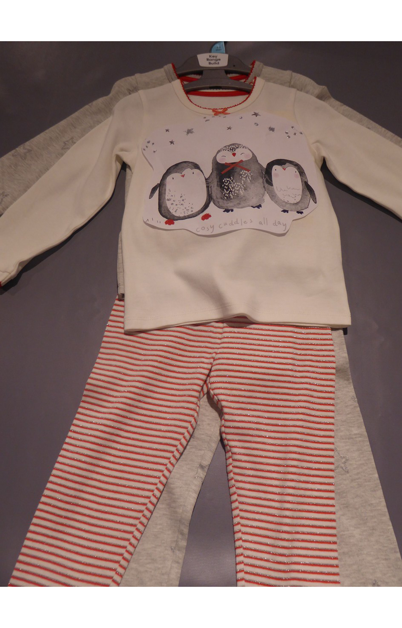Mothercare | Penguin Star Pyjamas - 2 Pack