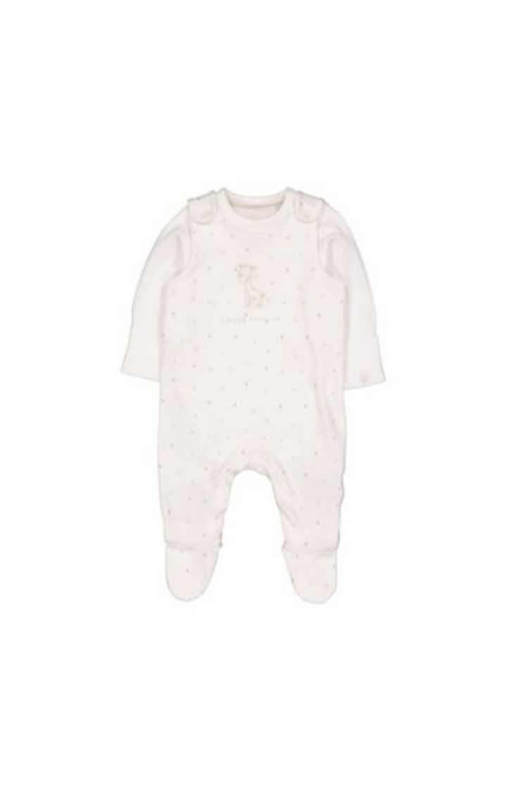 Mothercare   My First Dungarees And Bodysuit Set