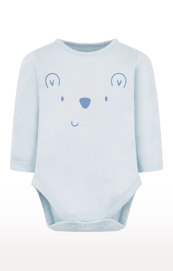 Mothercare | My First Blue Bear Bodysuit