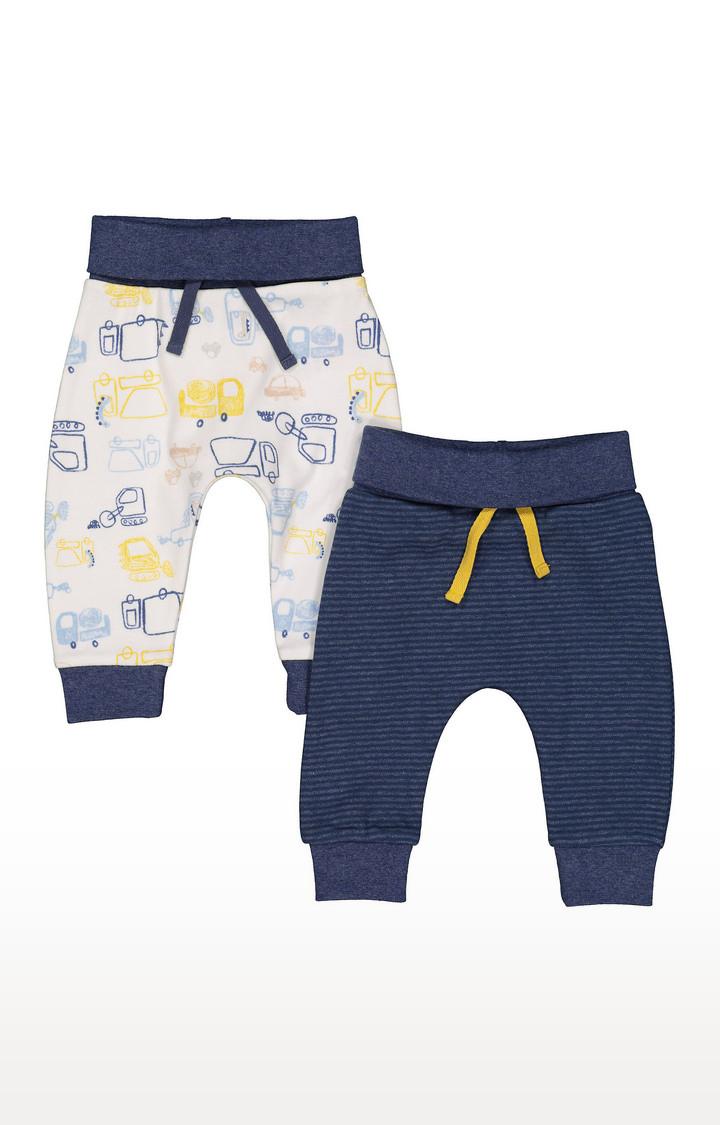 Mothercare | Truck Stripe Leggings - 2 Pack
