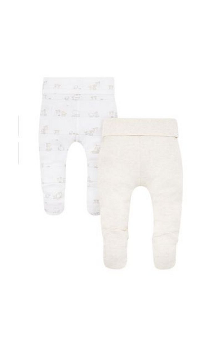 Mothercare | My First Joggers With Feet - 2 Pack
